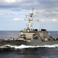 US destroyer transits through Taiwan Strait for 4th time under Biden