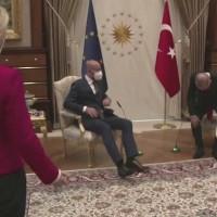 【外交失儀】三人要會晤 女人得站著 土耳其「沙發門」引眾怒