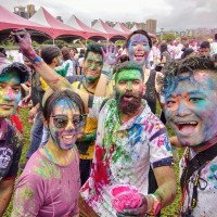 Indian Holi Festival celebrates diversity in Taipei