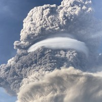 Photo of the Day: Volcano of Taiwan's ally Saint Vincent explodes