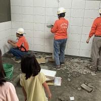 Volunteer group extends house repair activities across Taiwan
