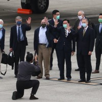 US President Biden's unofficial delegation arrives in Taiwan