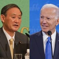 美日領袖更迭後首度會談:拜登與菅義偉擬討論台灣海峽情勢
