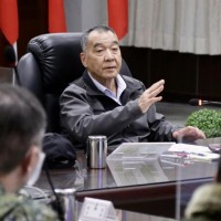 Taiwan defense minister inspects Matsu Defense Command