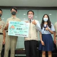 Taiwanese students recognized for street cleaning campaign