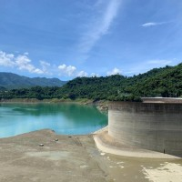 Taiwan's Zengwen Reservoir sitting at below 11% capacity