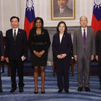 New ambassador from Belize presents credentials to Taiwan president
