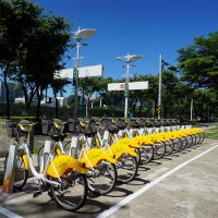 YouBike 2.0 stations in central Taiwan city of Taichung exceed 200