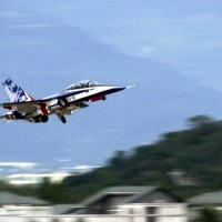 Brave Eagle jet trainers tested at southeast Taiwan base