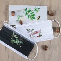 【只送不賣!】台灣林務局花蓮林管處推廣原生種 參加活動可獲贈5款植物插畫口罩