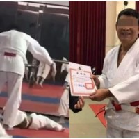 Boy 'brain dead' after being relentlessly thrown by judo coach in central Taiwan