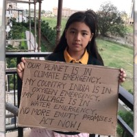 Child climate activist pleads for Taiwan's help with India's COVID crisis