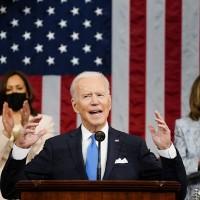 象徵高於實際? 拜登國會演說2女性入座寫下美國歷史
