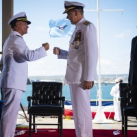 New US Indo-Pacific Command chief thanks Taiwan Navy commander