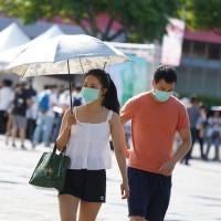 Taiwan issues heat warning for south as mercury peaks at 36.7 C