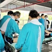 台灣指揮中心:北北桃醫院及長照機構即日起至5/17止 除例外情形•停止開放探病及探視