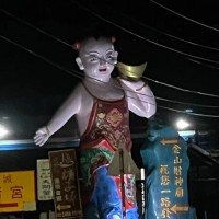 Photo of the Day: Spooky God of Wealth statues seen in New Taipei