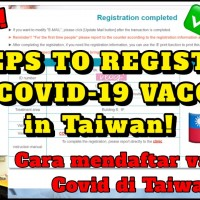 YouTuber shows how foreigners can register for COVID shots in Taiwan