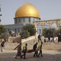 Jerusalem violence leads to rockets, air strikes