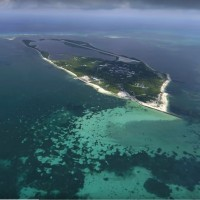 Taiwan builds wastewater treatment plant on disputed South China Sea island