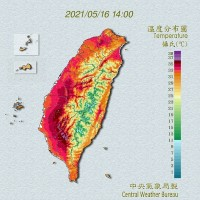 No signs of significant rainfall for next 10 days in Taiwan