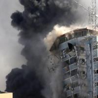 以巴衝突最致命襲擊以色列空襲加薩釀33死 美聯社、半島電視台飛彈攻擊倒塌