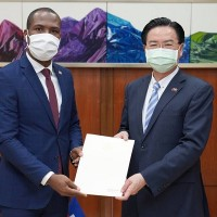 New Haitian ambassador to Taiwan presents credentials to foreign minister