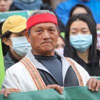 Taiwan president issues pardon to Bunun hunter