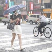 Rain forecast for Taiwan next week
