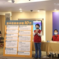 Taiwan's Taichung puts forward economic relief measures amid outbreak