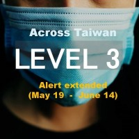 Taiwan extends Level 3 restrictions to June 14