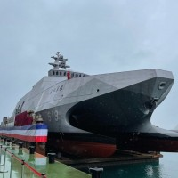 Military analyst praises Taiwan Navy's new corvette for its survivability