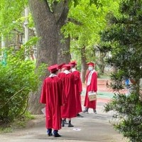 Taipei private school fined for holding physical graduation ceremony
