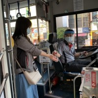Taiwan bus drivers hit hard by pandemic call for relief