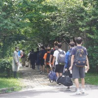 Taipei's Chinese Culture University tests students for COVID
