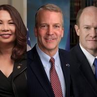 Three key US senators to visit Taiwan Sunday