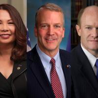 美國3位聯邦參議員訪台討論區域安全 《台灣保證法》、《台北法》共同提案人也同行