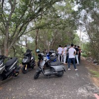 Scooterists fined for outdoor gathering in central Taiwan