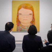 Japanese artist Nara Yoshitomo's first-ever solo show in Taiwan ends early