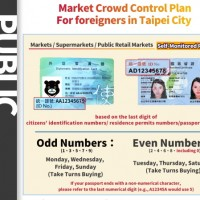 Taipei's ID-based market restrictions for foreigners, locals kick in tomorrow