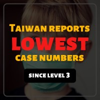 132 local COVID cases lowest in Taiwan since Level 3 began