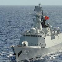 Chinese navy ships lurk near Taiwan's waters