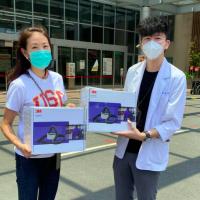 台灣女星賈永婕再度出手!500萬購入電動過濾式呼吸防護具神救援