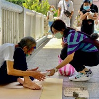 Taipei draws up list of homeless for COVID vaccination