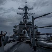 美驅逐艦第6度行經台灣海峽 國防部:全程掌握
