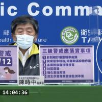 快訊!全國三級警戒延長至7月12日 指揮中心公布6大規劃