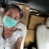 「假日讓廠商休息」 台灣「抗疫女神」賈永婕支援前線親送物資至屏東