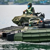 Taiwan Marines conduct amphibious assault exercise