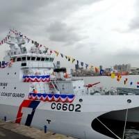 Taiwan's newest Coast Guard vessel stationed in Hualien