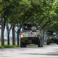 Taiwan Army brigade carries out combat readiness exercise